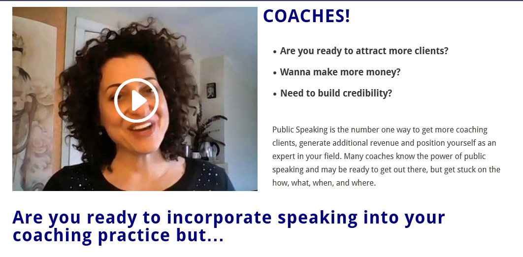 how to speak clear to my client